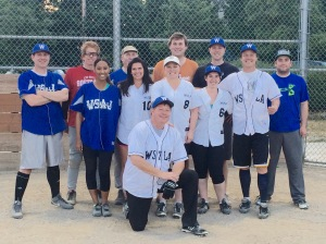 WSAJ Softball team