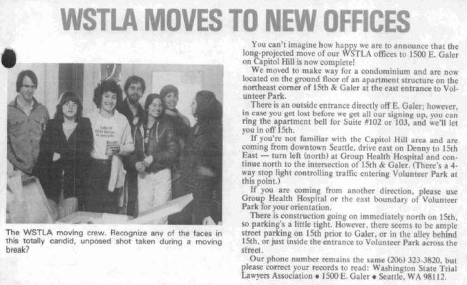 WSTLA moves