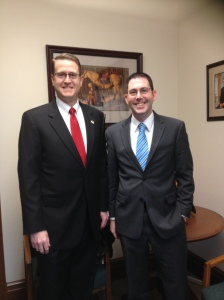 Rep. Matt Shea with Marshall
